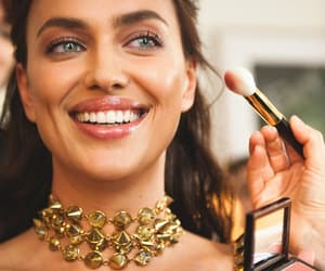 make up and irina shayk image