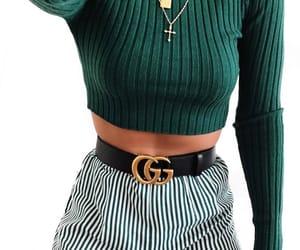 fashion, girl, and gucci image