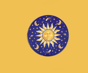 sun, header, and stars image
