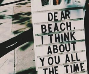 beach, paradise, and quotes image