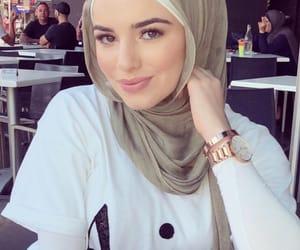 beauty, hijabista, and stylé image