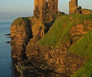 scotland. and castle sinclair girnigoe image