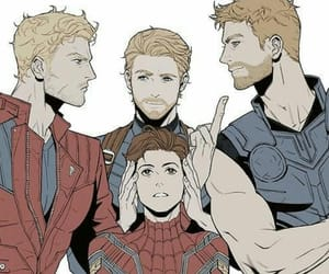 Avengers, spiderman, and thor image