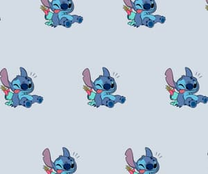 aesthetic, stitch, and wallpaper image