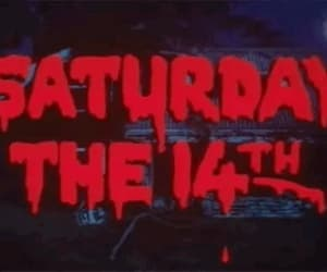 saturday, gif, and horror image