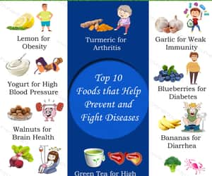 diseases and superfoods image
