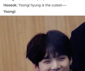 jin, sope, and yoonseok image