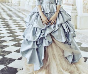 18th century, dress, and fashion image