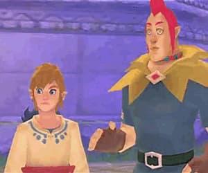 gif, zelda, and skyward sword image
