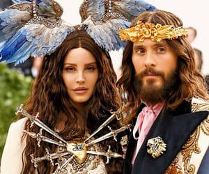 jared leto, met gala, and lana del rey image