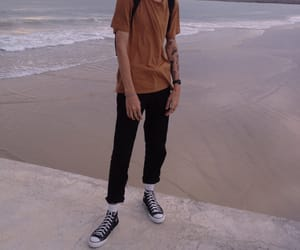 beach, hipster, and boy image