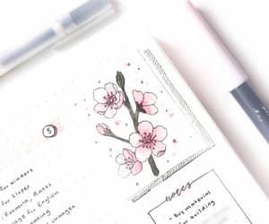 college, handwriting, and Muji image