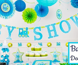 baby shower party, baby shower ideas, and baby shower decorations image