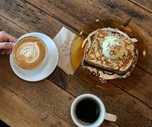 black coffee, breakfast, and chocolate image