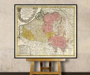 etsy, antique map, and old map image