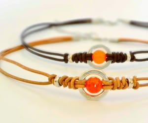 adjustable, etsy, and leather and gemstone image