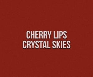 quotes, cherry, and red image