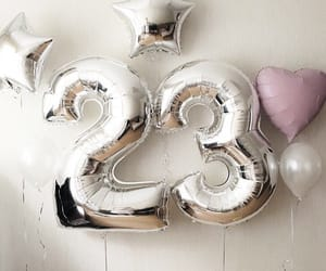 23, balloon, and balloons image