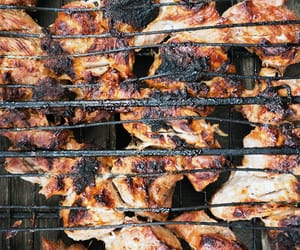 bbq, foodporn, and skewers image