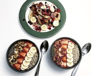 banana, berries, and blueberries image