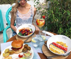 bowl, salad, and breakfast image