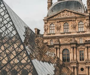 architecture, louvre, and world image