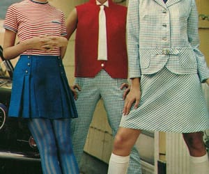 60s, fashion, and indie image