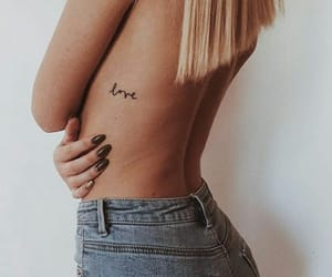 tattoo, love, and body image