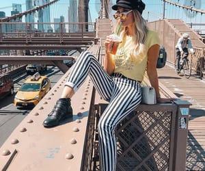beach, blonde, and newyork image