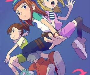 digimon, digimon frontier, and digimon tamers image