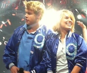 glee, quinn fabray, and chord overstreet image