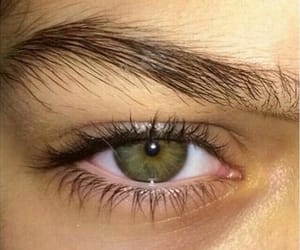 eyes, green, and love image