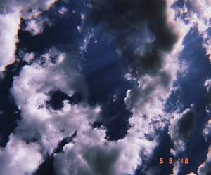 beauty, clouds, and hendrix image
