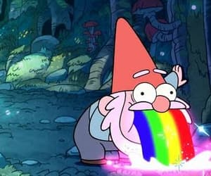 rainbow and gravity falls image