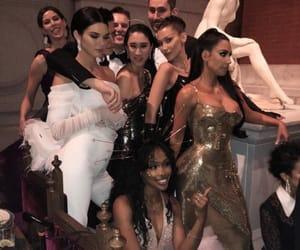 bella hadid, kim kardashian, and kendall jenner image