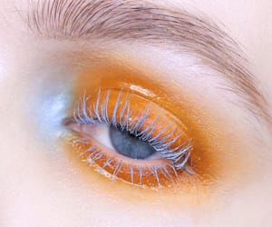 eye and orange image