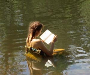 book, reading, and summer image