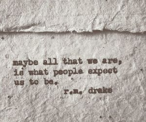 quotes, people, and r.m. drake image