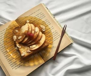 book, food, and pretty image