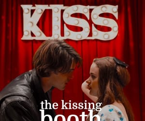 article, the kissing booth, and couple image