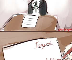 danganronpa and byakuya togami image