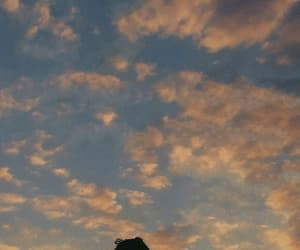 sky, troye sivan, and clouds image