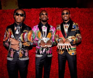 fashion, rappers, and migos image