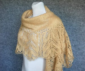 etsy, lace shawl, and elegant scarf image