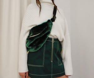 fashion, fall, and green image