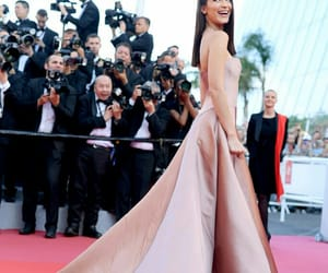 cannes, bella hadid, and dress image