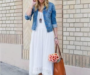 maxi dress in lace image