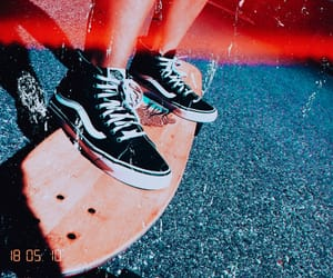 longboard and vans image