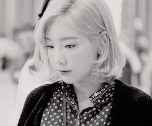 black and white, k-pop, and k-pop edit image