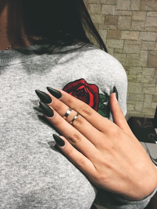 188 images about Nails,Rings And Tattos on We Heart It | See more ...